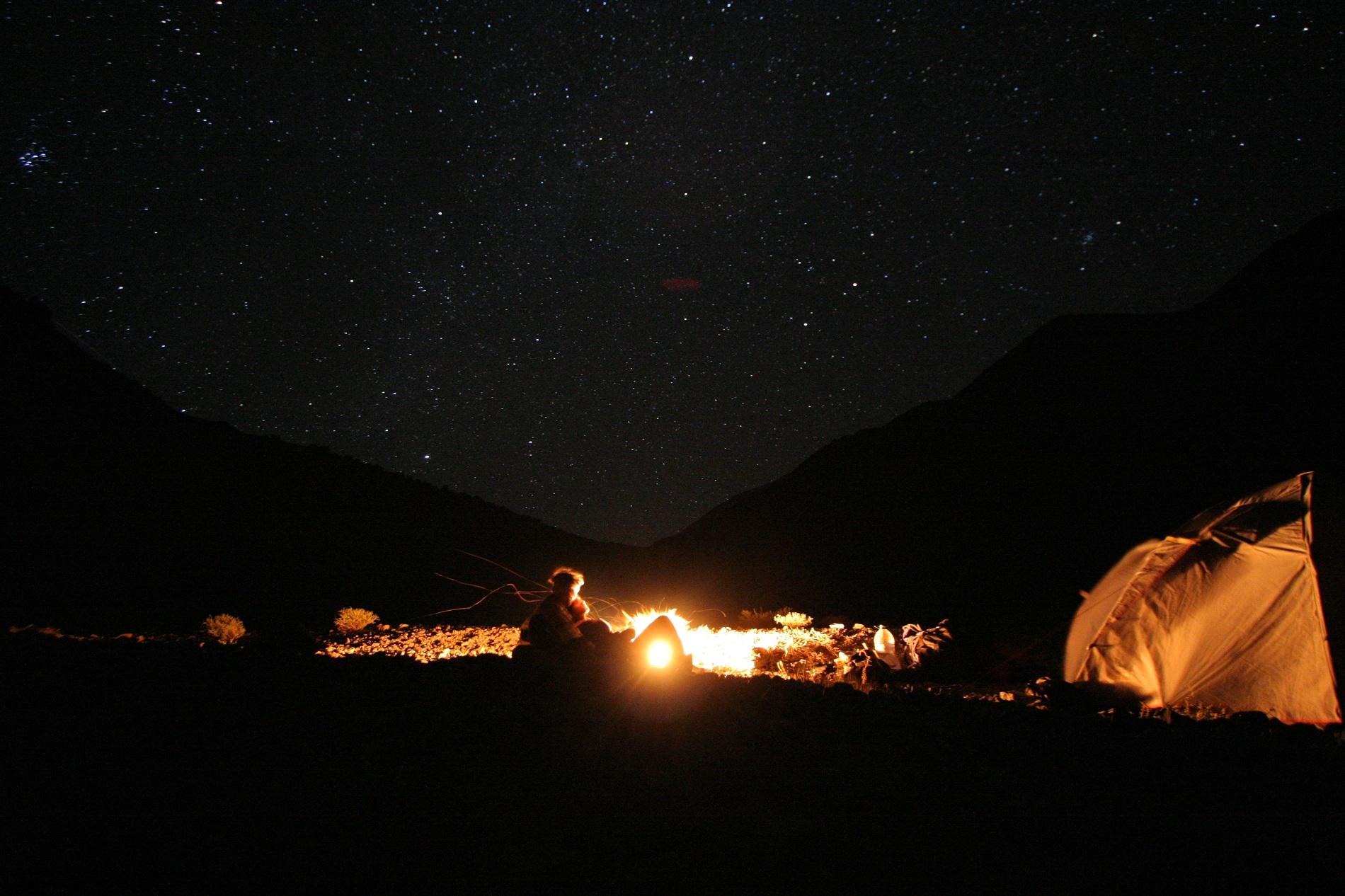 campamento andino cosmos original